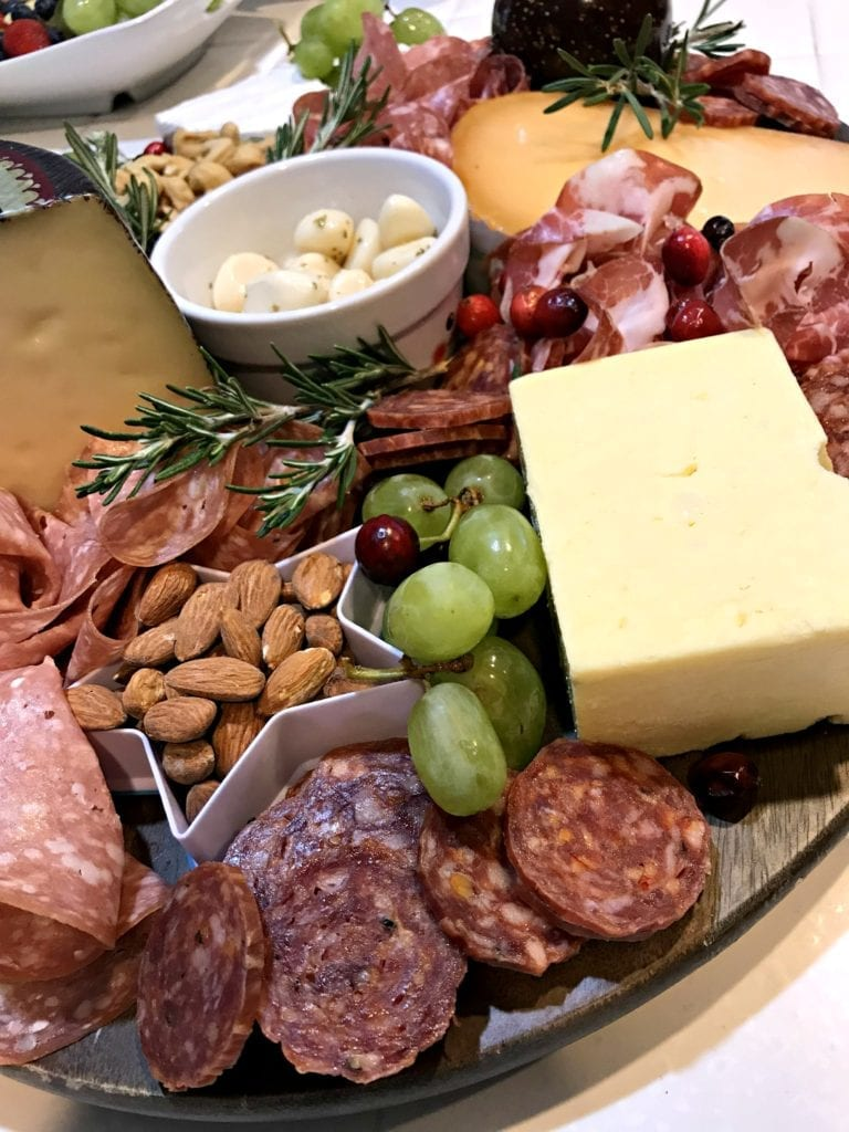 Cookie Cutter Costco Cheese and charcuterie board