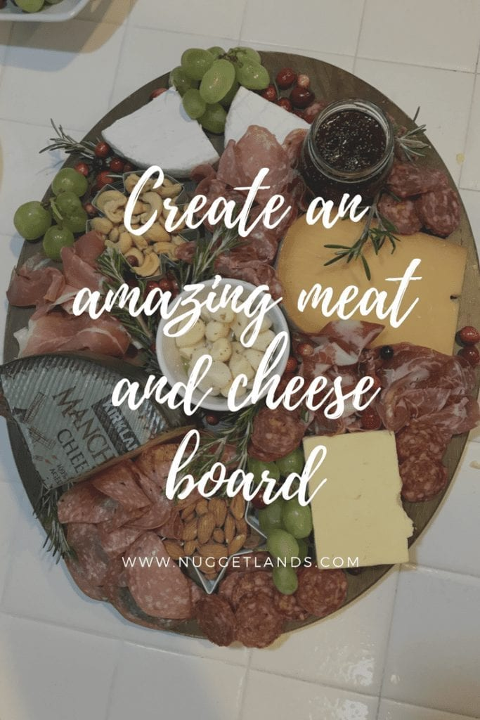 Create an amazing meat and cheese board from Costco