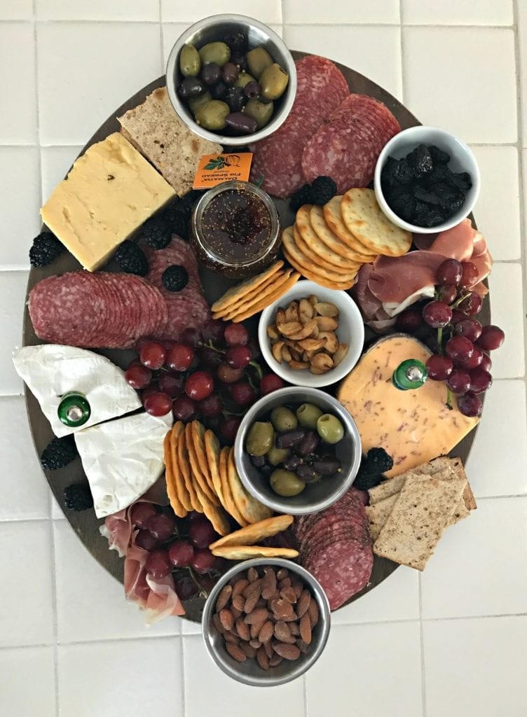 Fathers Day Cheese and Charcuterie Board