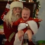 Baby with Santa