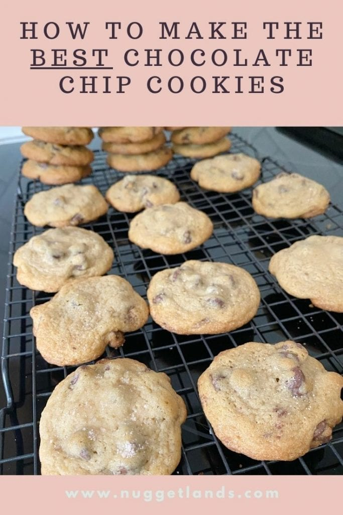 How to make the best chocolate chip cookies every time.